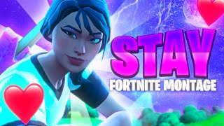 """The BEST """"STAY"""" Fortnite Montage (The Kid LAROI)"""