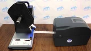 Намотчик этикеток Godex T10(Внешний намотчик Godex T10 -- универсальный намотчик этикеток для любых моделей принтеров. Подробнее: http://www.vostok..., 2014-01-10T13:56:36.000Z)