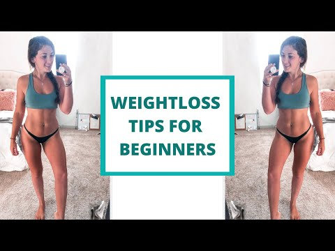 WEIGHT LOSS TIPS | Workout & Nutrition Tips for Beginners