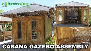 Bamboo Grove Furniture - Cabana Assembly