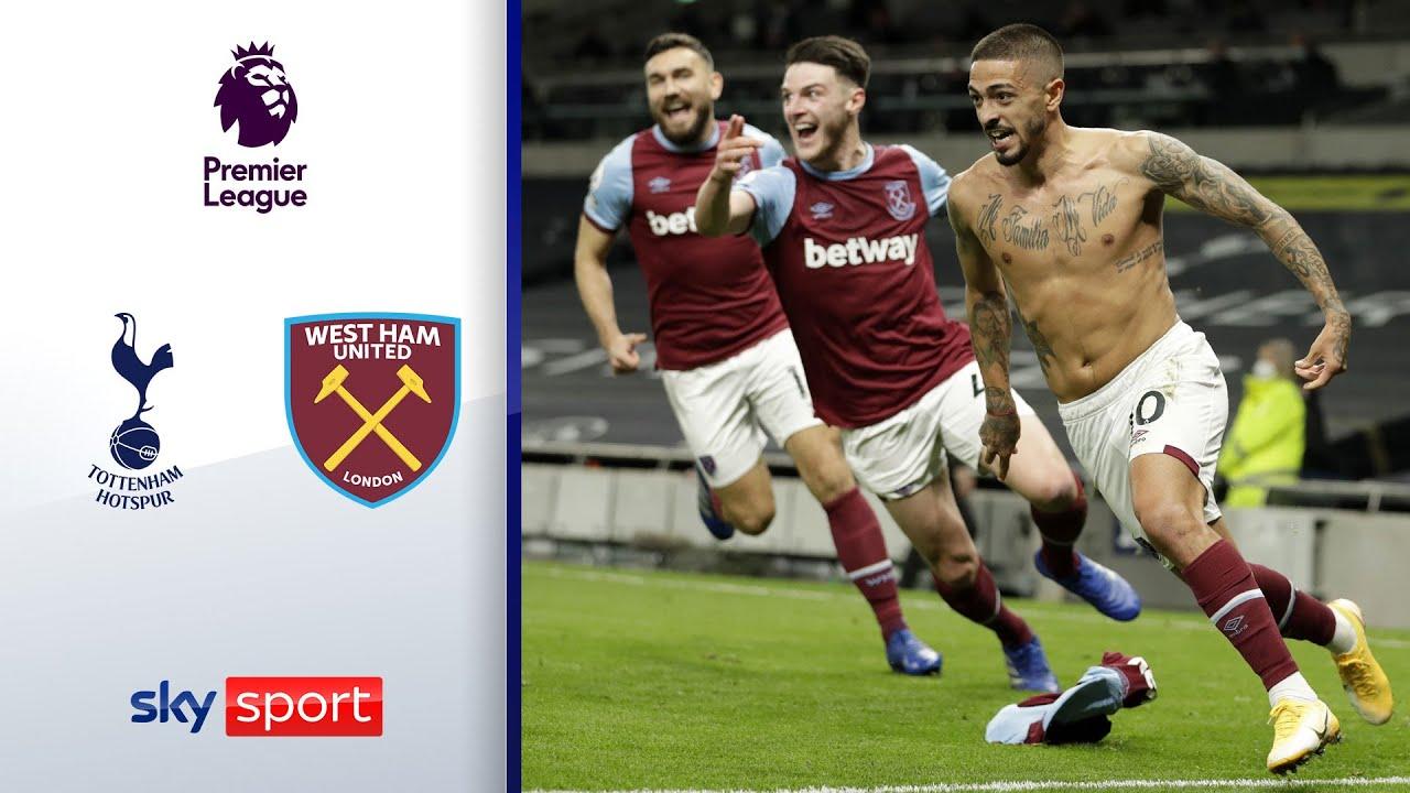 90.+4! Wahnsinns Comeback der Hammers   Tottenham - West Ham 3:3   Highlights - Premier League