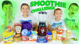 SMOOTHIE CHALLENGE entre Frères - Les Pires Smoothies !!! 🤢