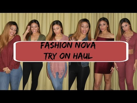 Fashion Nova Try On Haul December 2016| Sleigh This Christmas