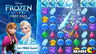 Disney Frozen Free Fall Unlocked Anna and Elsa