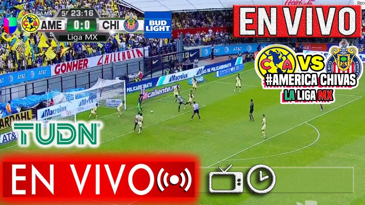 Chivas vs Amrica EN VIVO: transmisin minuto a minuto del ...