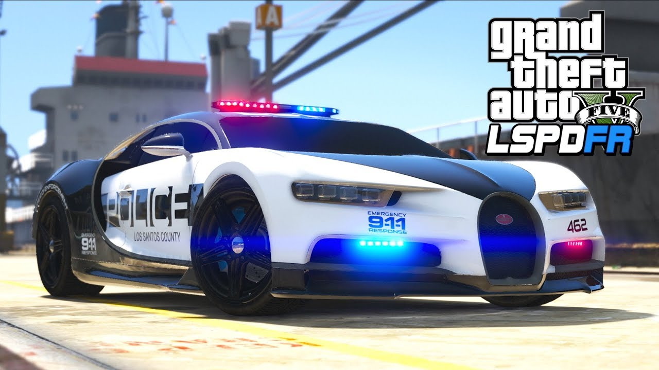 Gta 5 Lspdfr Ep406 Bugatti Police Car Goes 400 Mph Youtube