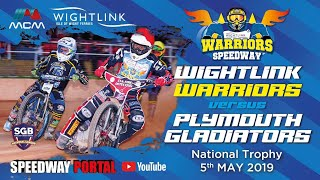 Isle of Wight 'Wightlink Warriors' vs Plymouth 'Gladiators' : National Trophy : 02/05/2019
