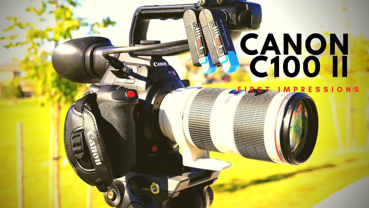 Canon C100 Mark II first impressions