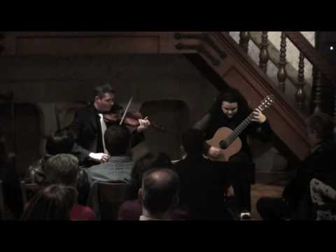"""Astor Piazzolla - Revirado """"Duo Intimidad"""" Miriam ..."""