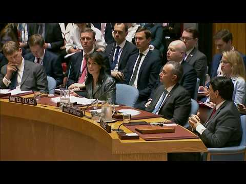 Ambassador Haley Delivers Remarks on the Situation in the Middle East