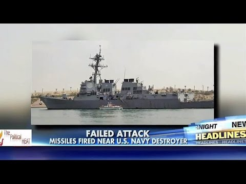 Iran backed Houthi Rebels fire missiles at US Navy Destroyer in Red Sea