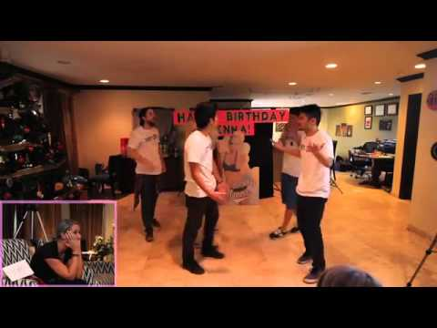 Ryanhiga Amp D Trix Dance Routine For Jenna Marbles B Day