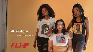 #Herstory   2021 Spring Collection   FLIdP