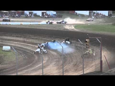 IMRA Midgets heats 34 Raceway 9/5/15