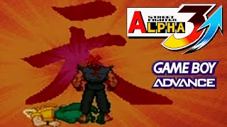 Repeat youtube video Street Fighter Alpha 3 Upper Akuma playthrough (Game Boy Advance)