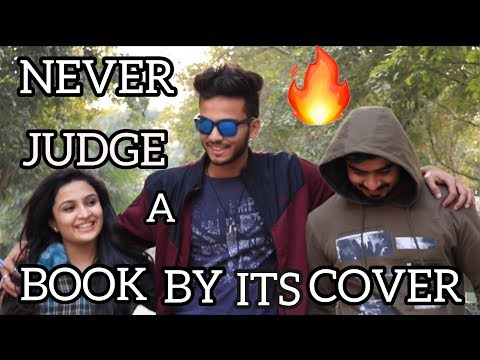 NEVER JUDGE A BOOK BY ITS COVER - | ELVISH YADAV |