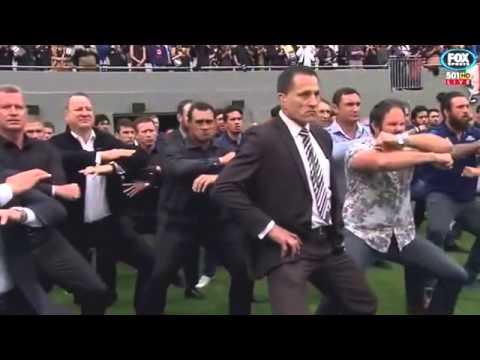 Jonah Lomu's former teammates and Fans perform emotional final haka Full