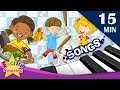 Do Doing Did | What are you doing?+More Kids Songs | English songs for Kids - JugniTV