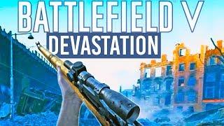 The BEST Urban Map Battlefield 5 Devastation Gameplay