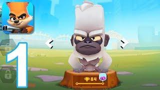 Zooba: Zoo Battle Arena - Gameplay Walkthrough Part 1 (iOS, Android)