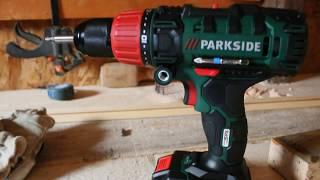 Perceuse à colonne - Machine d'atelier: Batterie Parkside