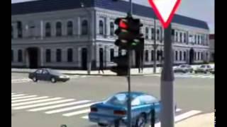 33 Правила проезда перекрёстков регулируемых сигналами светофора — Правила дорожного движе