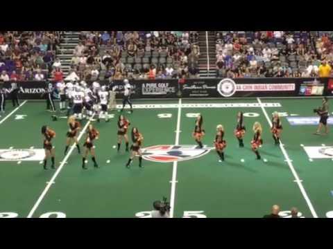 """2016 Arizona Rattlers Dancers """"KISS"""""""
