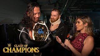 Sami Zayn praises Shinsuke Nakamura's performance: WWE Exclusive, Sept. 15, 2019
