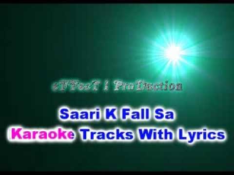 Saree Ke Fall Sa karaoke Track with lyrics 2013