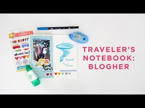 Traveler's Notebook | BlogHer Conference 2016