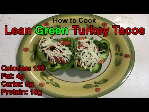 lean-green-turkey-tacos- -easy-low-carb-recipes- -healthy-dinner-recipes