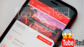 😱 ¡Como tener YouTube Red ++ Gratis! iPhone, iPad, iPod 2017 [FUNCIONA]