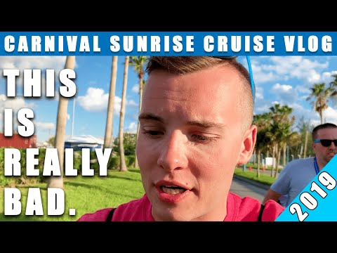 STUCK IN FREEPORT FROM SIMPLE CRUISE MISTAKE! | Carnival Sunrise Cruise Vlog 2019! | Ep. 12