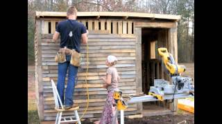 Pallet To Chicken Coop