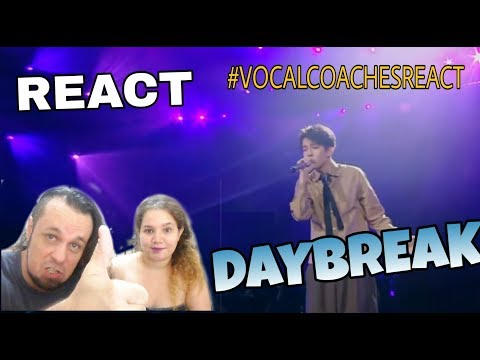 VOCAL COACHES REACT: DIMASH - DAYBREAK (SINGER 2017)
