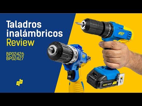 Review y Unboxing de los Taladros Inalámbricos BP