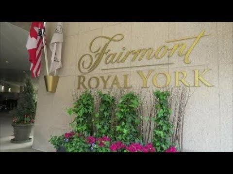 👑FAIRMONT GOLD PRIVATE LOUNGE👑 FAIRMONT ROYAL YORK HOTEL.TORONTO.