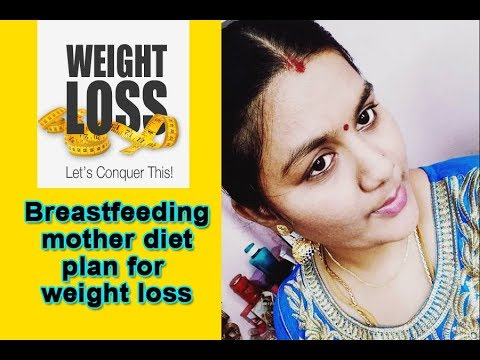 Weight loss diet plan for breastfeeding mothers | Aishwarya vignesh