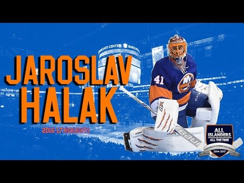 Jaroslav Halak 16-17 Highlights