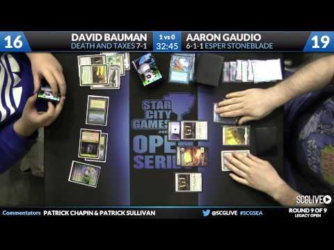 SCGSEA - Legacy - Round 9 - Aaron Gaudio vs David Bauman streaming vf