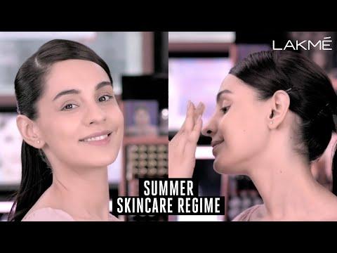 Summer Skincare Regime Tutorial with Lakme Beauty Advisor