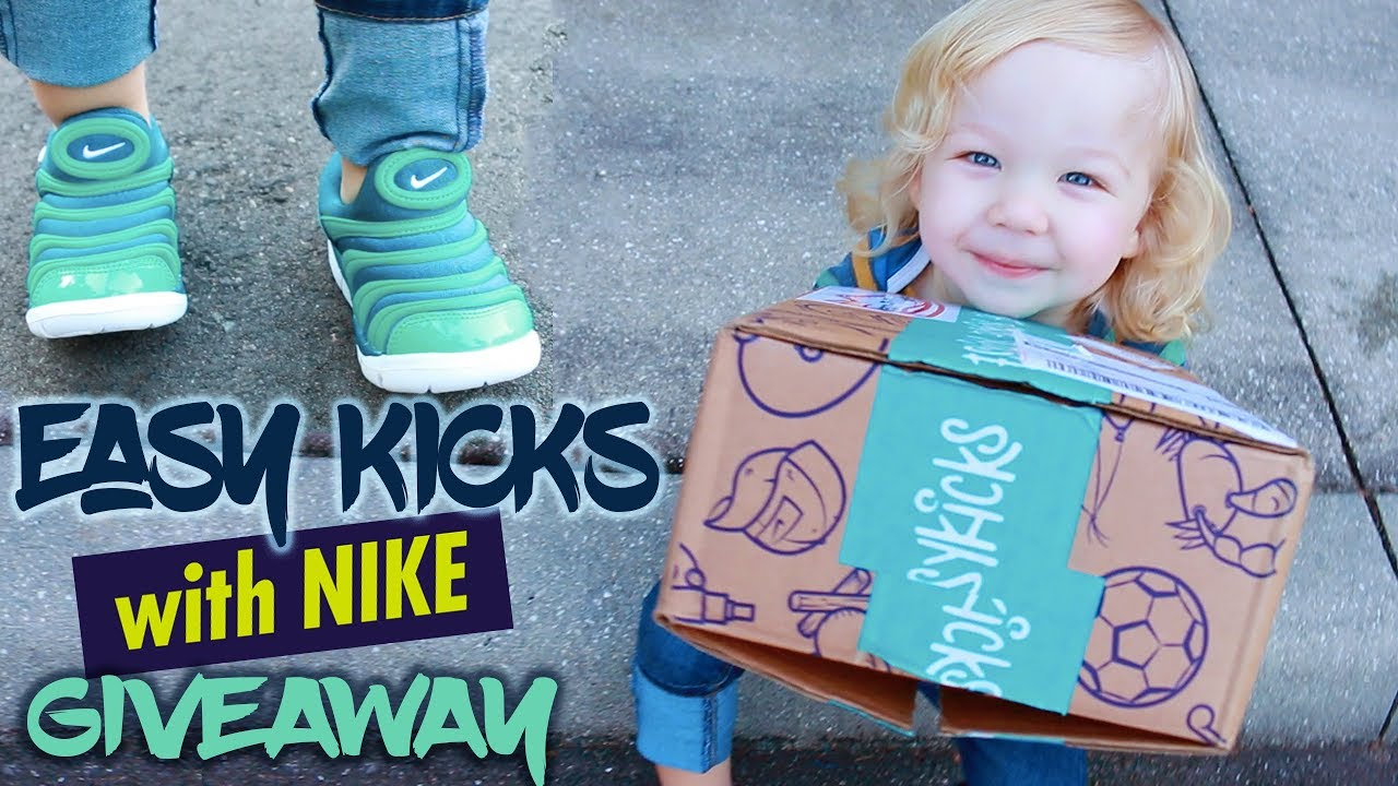 EASYKICKS with NIKE | Kids Shoes Subscription [GIVEAWAY]