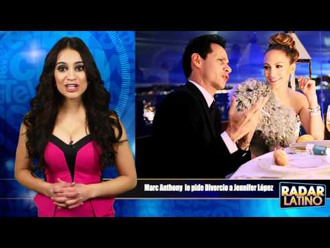 Marc Anthony y Jennifer López Divorcio Por Fin