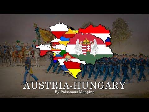 AUSTRIA-HUNGARY Flag Map SPEEDART (17 States) | Flag Maps #1