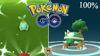 RACHA DE SHINY, TORTERRA 100% Y HUEVOS EN EL COMMUNITY DAY! (PARTE 1) [Pokémon GO-davidpetit]