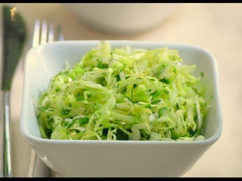 салат из огурцов с капустой