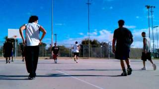 Basketball at normandie park los Angeles