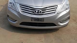 Azera To Dubai - Korean Used Car export