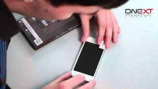 Инструкция по нанесению защитного стекла ONEXT на дисплей iPhone 5(Дорогие друзья, мы представляем Вам инструкцию по нанесению защитного стекла ONEXT. Это стекло позволит практ..., 2013-12-27T08:27:24.000Z)