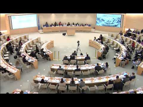 Enhanced ID: SR on Human Rights in Eritrea - 30th Meeting, 37th Regular Session Human Rights Council